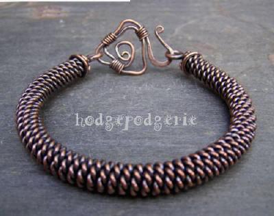 Spartan Copper Bangle