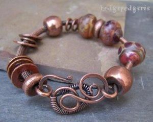Copper Carnival Bangle