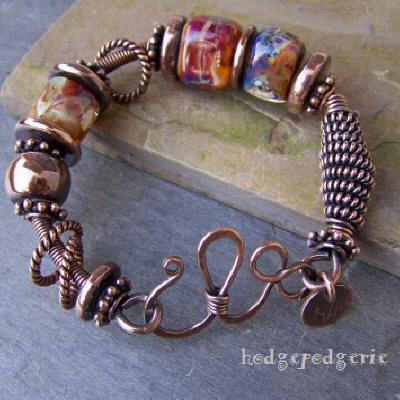 Copper Carnival Bangle