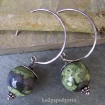Rhyolite Hoops Earrings