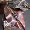 Ficus Leaf Cuff Bracelet