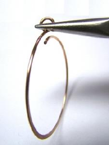 How To Make A Hoop Earring From Wire | Hoop Earrings Tutorial