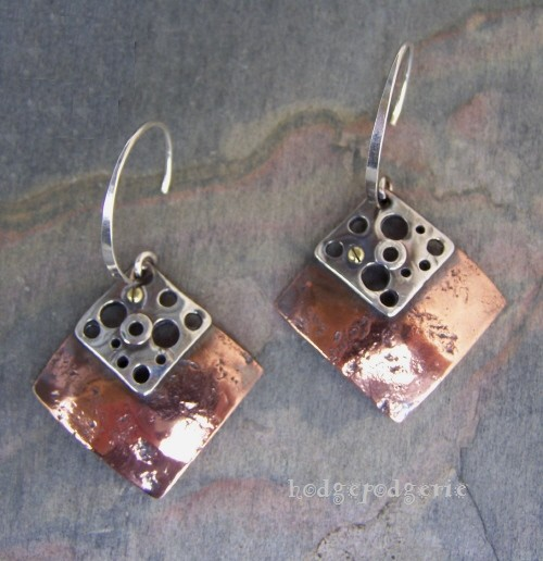 Industrial Metals Earrings