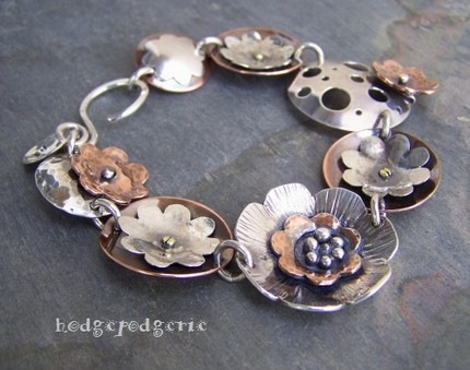 Metal Garden Bracelet Workshop