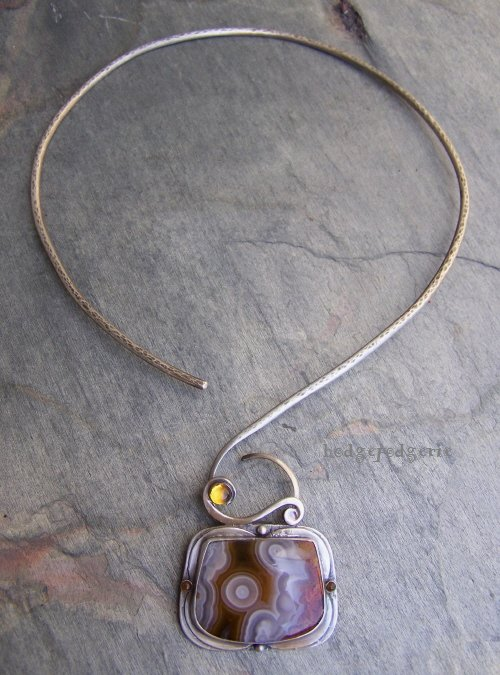 Natural Art Necklace