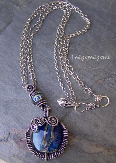 Ningaloo Lampwork Necklace