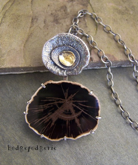 Primordial Woods Necklace