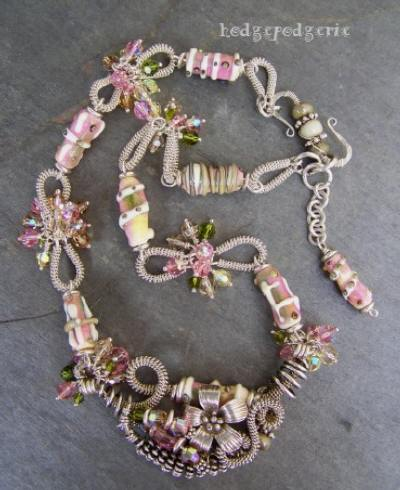 Rite of Spring Lampwork Necklace