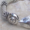 Sea Silver Bangle