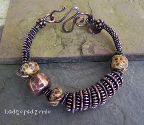 Siena Copper Bangle