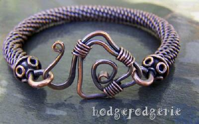 Spartan Copper Bangle