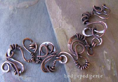 Wiredoodle Copper Bracelet