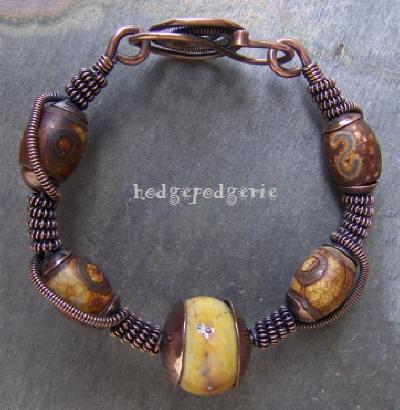 Tibetan Spirit Copper Bangle