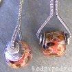 Borosilicate Lampwork Earrings