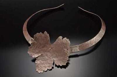 copper neck piece